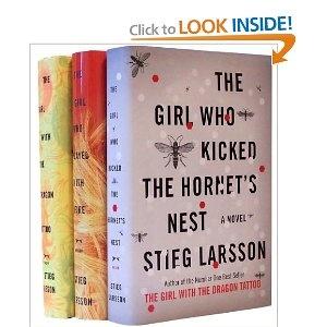 Stieg Larsson.  Swedish crime fiction.  Lisbeth Salander.  Start reading.