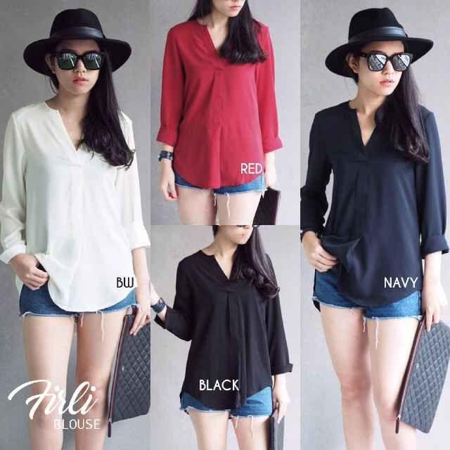 Beli Baju Atasan Wanita Firly Blouse Unik - http://www.butikjingga.com/baju-atasan-wanita-firly-blouse