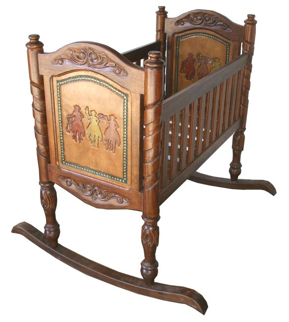 Western Furniture: Multi Baby Cradle|Lone Star Western Decor