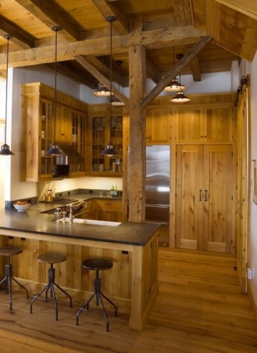Kitchens Cabins Kitchens Small Kitchens Rustic Kitchens Design