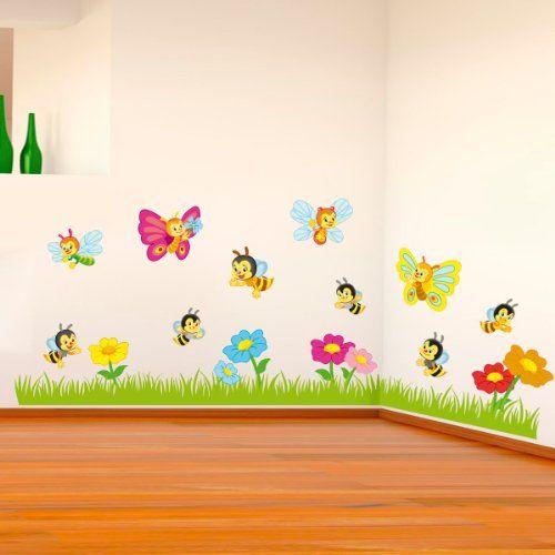 Oltre 25 fantastiche idee su decorazione per cameretta dei - Stickers murali per camerette ...