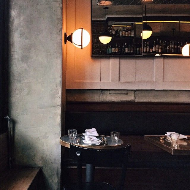 The best seat for brunch at Estela, NYC is up front at the bar, where you can catch the light streaming in from the windows.