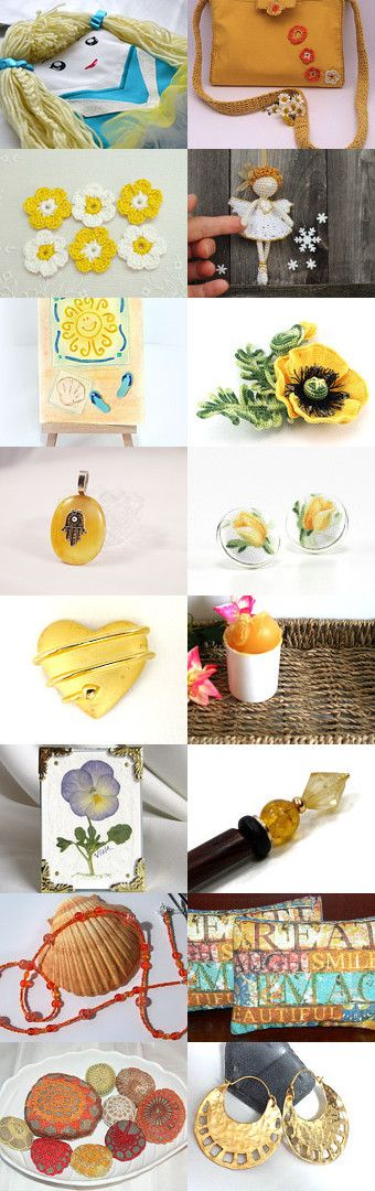 Yellow by Natasha on Etsy--Pinned with TreasuryPin.com