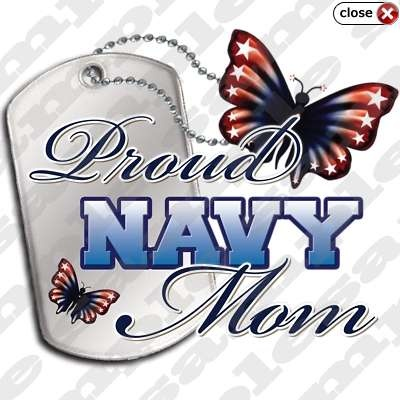 Proud Navy Mom...for David and Ben