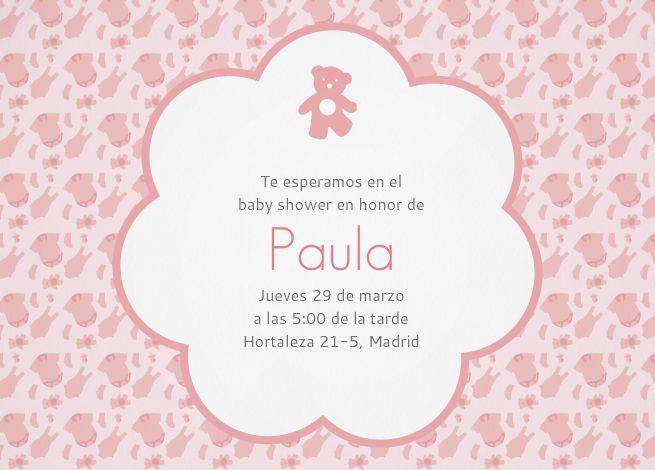 invitaciones personalizables para baby shower invitaenunclic