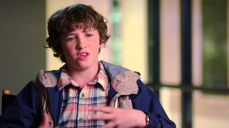 "San Andreas: Art Parkinson ""Ollie"" Behind the Scenes Movie Interview."