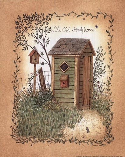 Outhouse 3 Primitive Decor Ideas Pinterest Chang E 3
