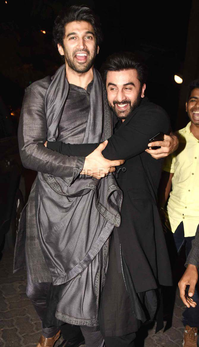 Aditya Roy Kapur and Ranbir Kapoor
