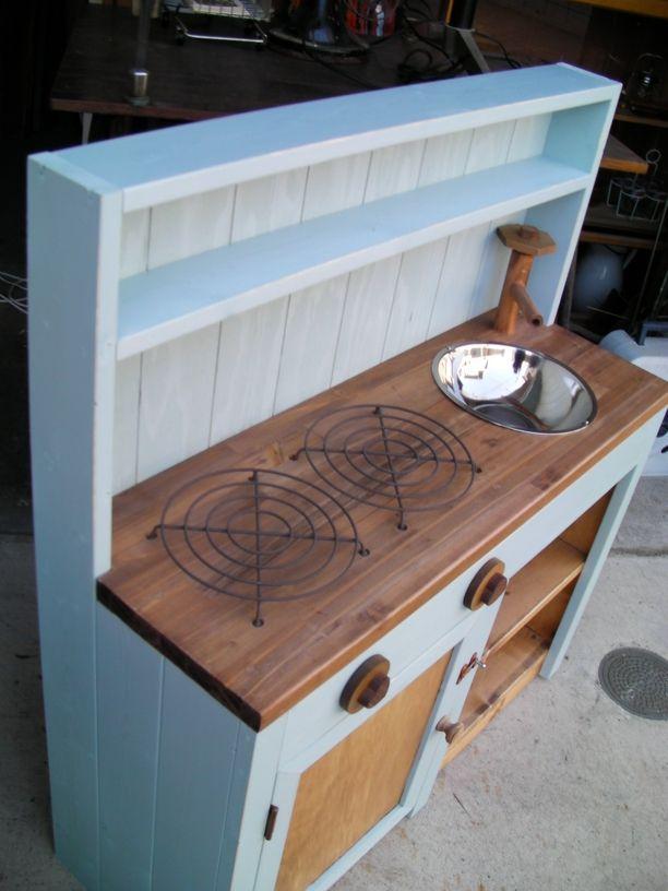 *木製おままごとキッチン*