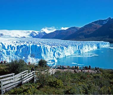 Perito Moreno Glacier - Visiting El Calafate, Argentina and this glacier was a truly life changing experience for me.  The raw natural beauty is awe-inspiring!