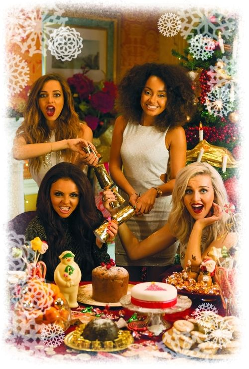 Happy holidays from little mix little mix for Happy christmas vs merry christmas