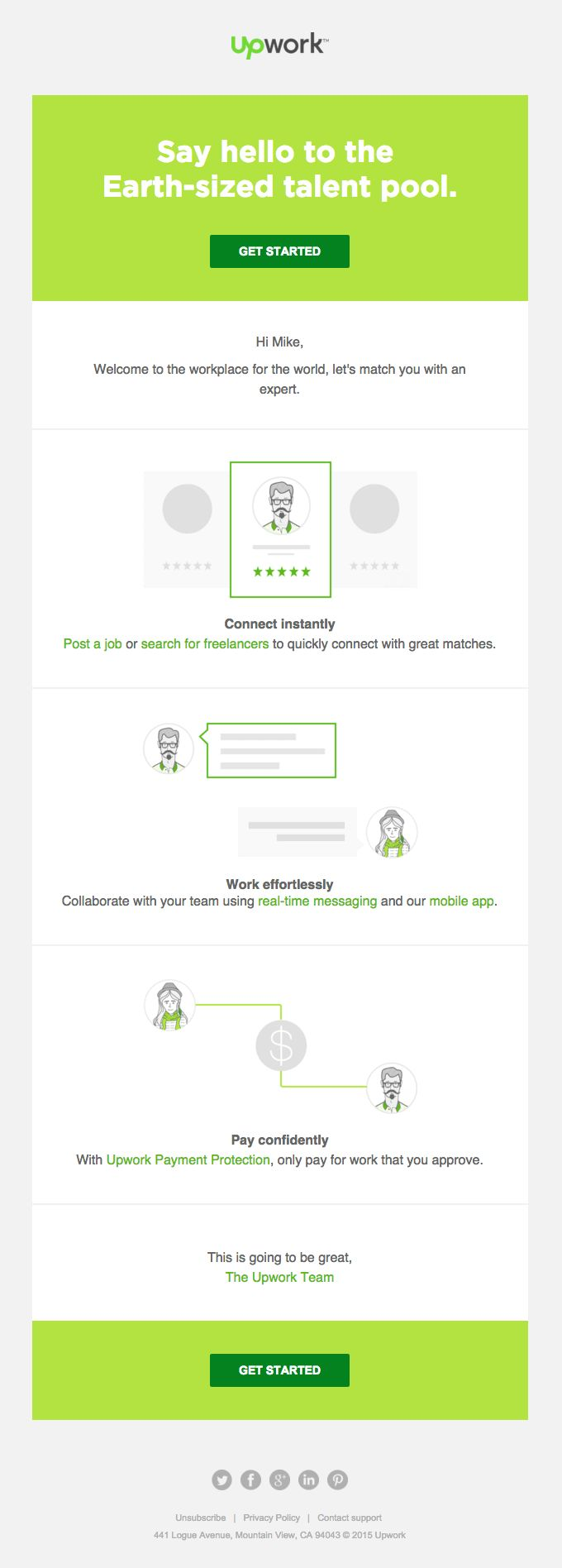 best images about upwork transcription jobs in get started on upwork really good emails