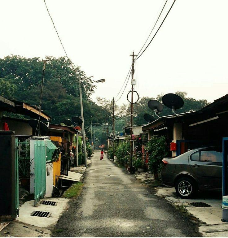 This tiny cute neighbourhood. - Salak Selatan, Malaysia