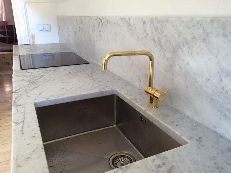 kök marmor mässing platsbyggd  moderskeppet stockholm
