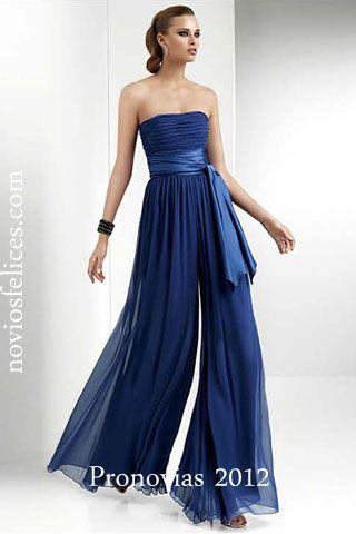 Pronovias 2012 Fiesta, vestidos de la nueva colección fiesta 2012 largos en colores brillantes para madrinas, damas de honor, invitadas a bodas y fiesta, bodas 2012