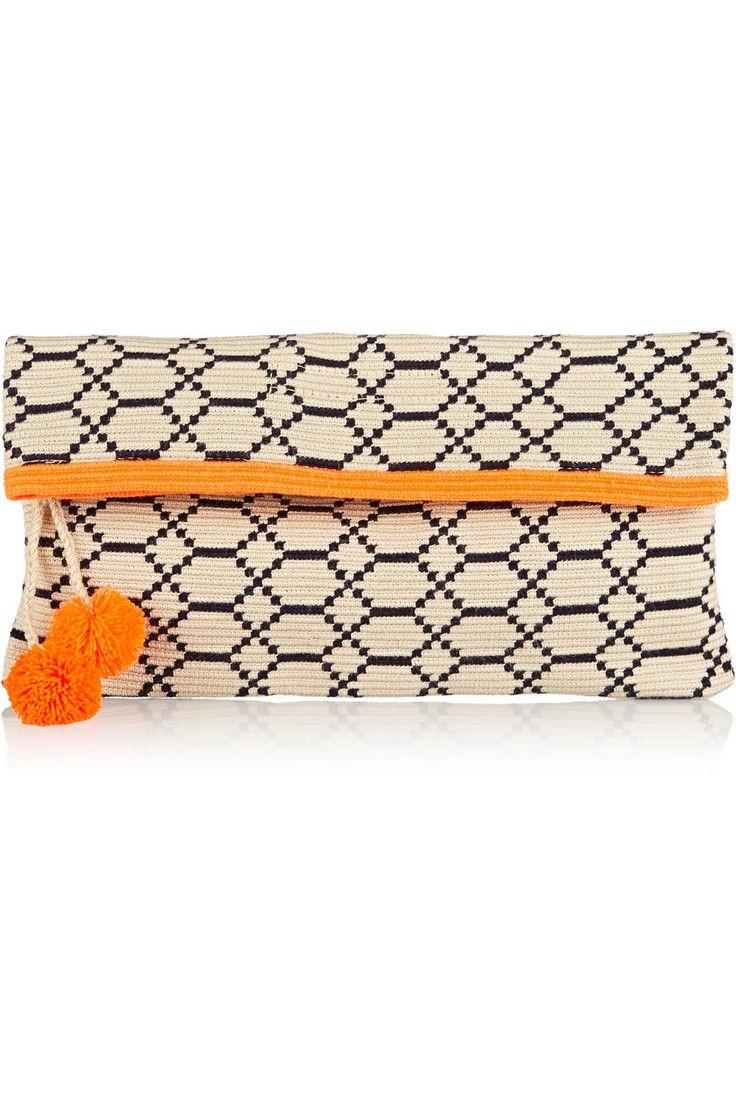 Sophie Anderson Alder 4 crocheted cotton pouch €266.87