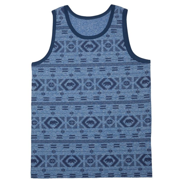 Men's Tank Top Blue Xxl - Mossimo Supply Co.
