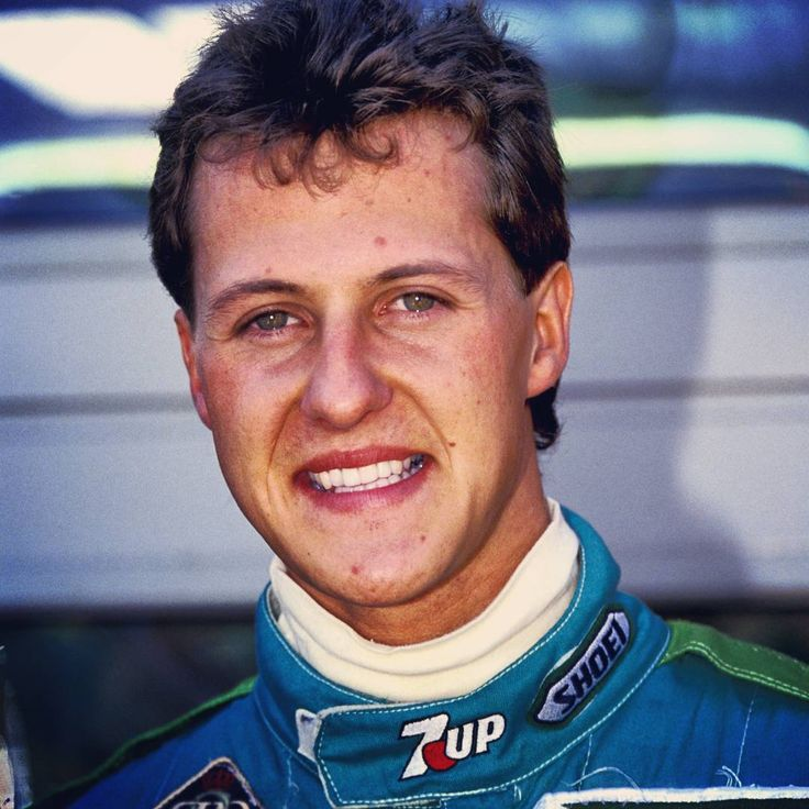 """""""On this day in 1991: #MichaelSchumacher's first #F1 race. He started a superb 7th in #Spa but had clutch failure on his first lap. #KeepFightingMichael…"""""""