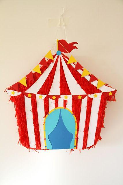 Piñatas que Ilusionan: Piñata Carpa de Circo