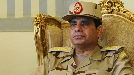 Abdul Fattah al-Sisi, Chief of Egyptian armed forces