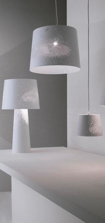 The Sky Lamp, designed by Karman is an atmospheric lighting source. #lighting