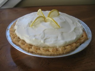 The Creative Homemaker Sour Cream Lemon Pie Just Like Marie S Lemon Sour Cream Pie Lemon Cream Pies Sour Cream Lemon Pie Recipe