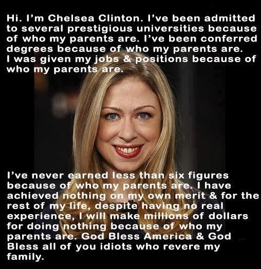#BooksThatTopHillarys  I Earned That...Just Kidding I Didn't by Chelsea Clinton pic.twitter.com/OvjvzNDvEY