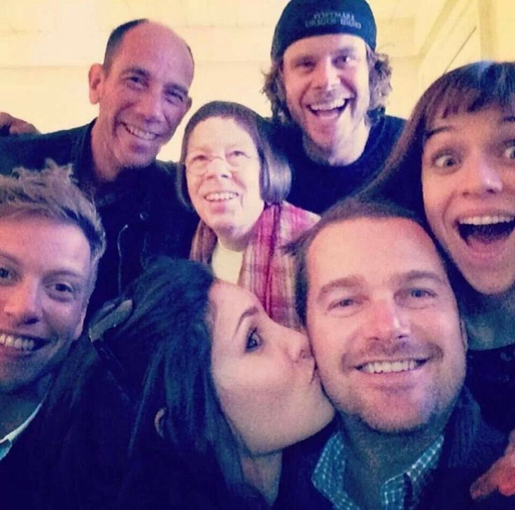 Some of the wonderful cast of NCIS: Los Angeles