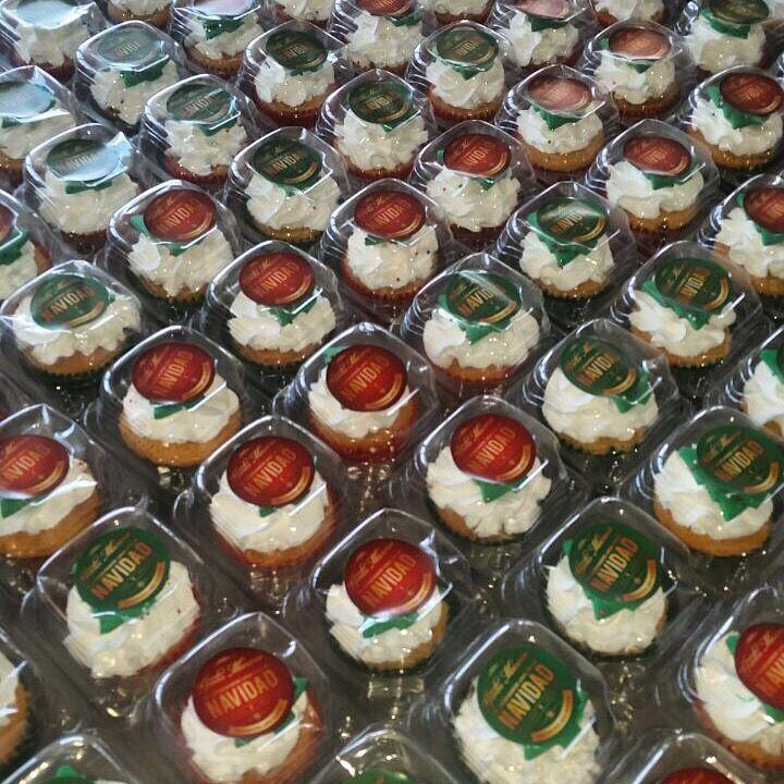 Cup cakes de Navidad