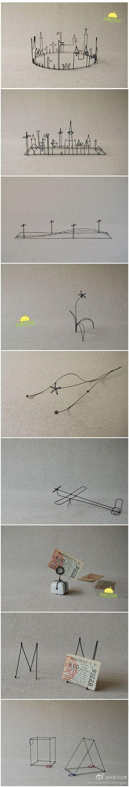 wire art: