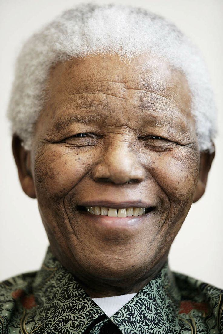 Nelson Mandela at a performance of the '46664 Arctic' concert, at the Rica Hotel on June 11, 2005 in Tromso, Norway.