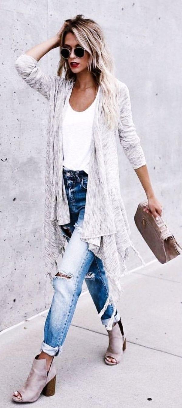 40 typische Boho Winter Outfits, auf die Sie gewartet haben