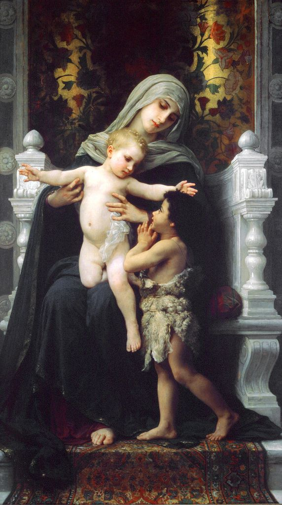 Mary & Jesus by Bouguereau 14 | by Waiting For The Word