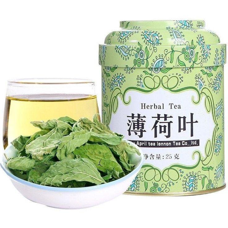 Organic herbal tea Fresh Mint Leaf Tea / Mentha Leave Tea 100% Natural 25g