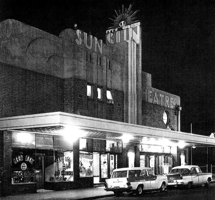 »sun theatre« yarraville, melbourne