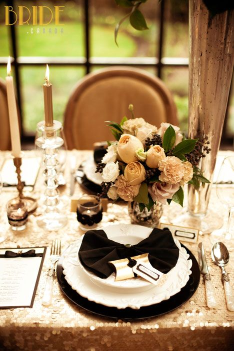 Vintage-inspired wedding table decor designed by Kailey Michelle Events in Vancouver, BC