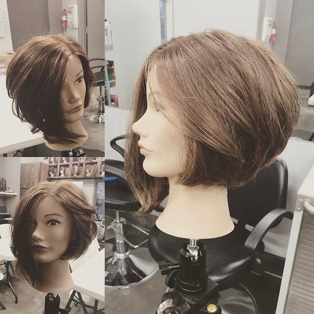 This happened today. #ilovewhatido #shinebrightlikeadiamond #hair #hairdressing #kerastaseusa #elixirultime #elixirultimekerastase #hanzonation #hatorihanzo #haircut #poshbob #asymetrical #asymetricalbob #poshspice #razor #hairobsessed