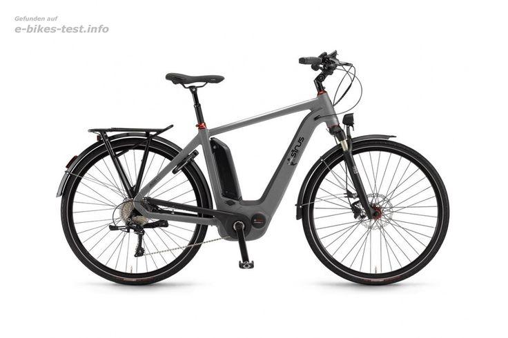 Sinus Ebike Fahrrad Ena11 Herren 500Wh 28 Zoll 11-G XT darksilver matt