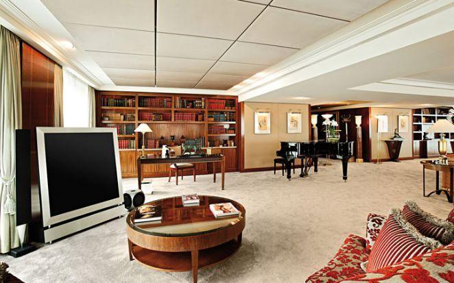 Royal Penthouse Suite: Com portas e janelas à prova de bala, é perfeita para chefes de estado ou celebridades que procurem sentir-se mais seguras - Foto: Divulgação