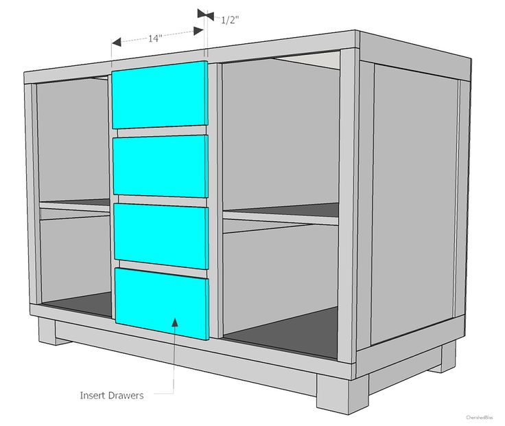 Kitchen Cabinet Plans: How To Build A DIY Kitchen Island