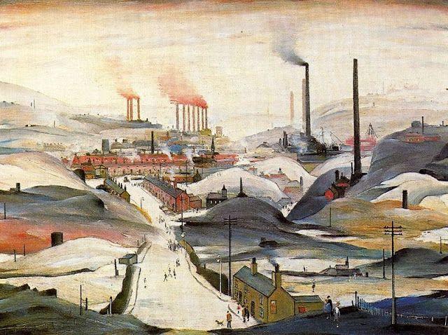 Laurence Stephen Lowry  - Industrial Panorama - 1953
