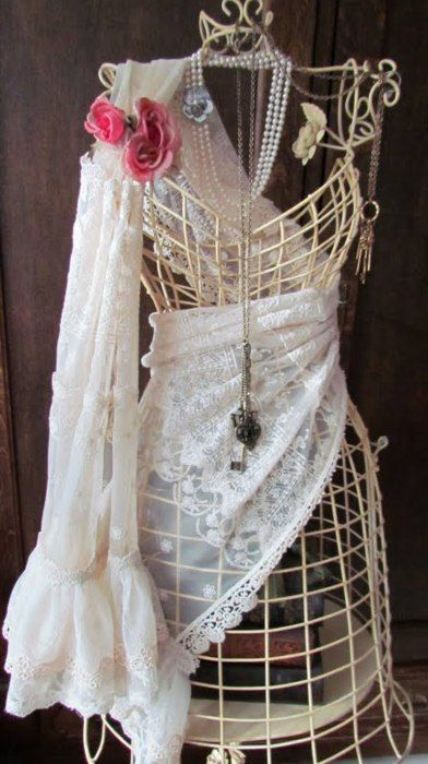 LoveManiqui, Form Fit, Shabby Chic, Angela Lace, Dressforms Mannequin, Dresses Form, Ana Rosa, Things, Vintage Mannequin