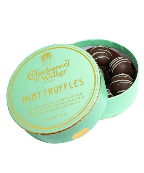 Mint Truffles Charbonnel Et Walker Chocolate Wedding Favoursparty