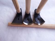 Set of 3 wood carving woodworking bowl adze tools - straight - big - small curved adze