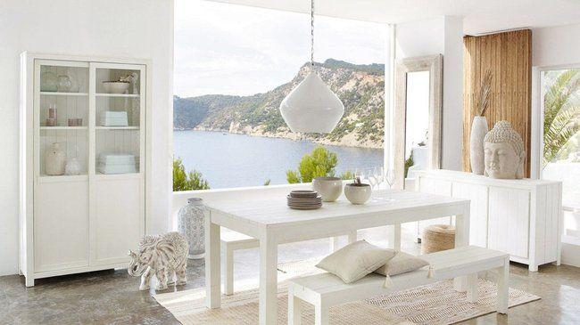 vaisselier blanc maisons du monde