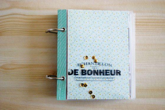 Tuto mini album tampons bois. Kesi Art blog