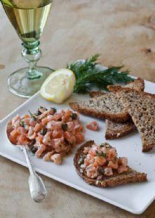 Barefoot Contessa - Recipes - Fresh Salmon Tartare