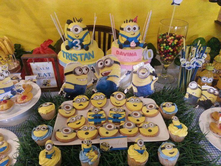 Minion cookies n birthday minion