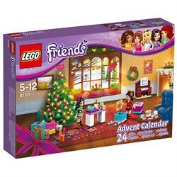 LEGO Friends Advent Calendar 2016 - includes Emma and Naomi mini-doll figures and 24 gifts.