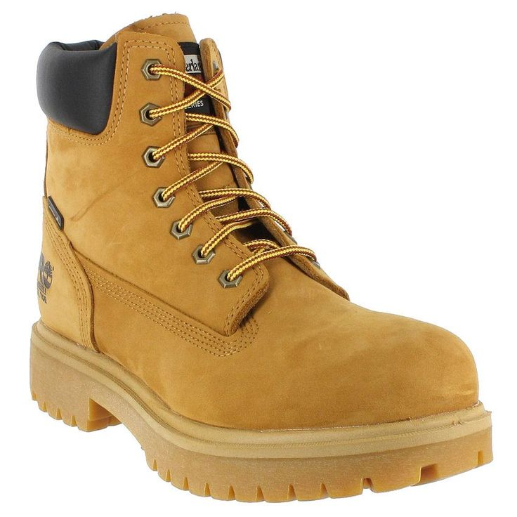 "Timberland Pro Men's 6"" Steel Toe Work Boots"